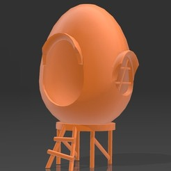 Screenshot_7.jpg Download STL file BirdHouse • 3D printer model, Eternel06