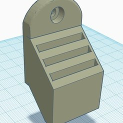 Free 3D printer designs Sd Card Holder, Eternel06