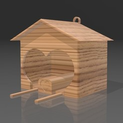 Screenshot_6.jpg Download free STL file Birdhouse • 3D printable template, Eternel06