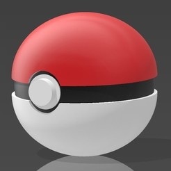 Screenshot_1.jpg Download free STL file Pokemon Ball • 3D print model, Eternel06