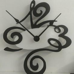Download STL Artistic Clock, Eternel06
