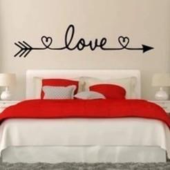 Download 3D printing designs Love Sign, Eternel06