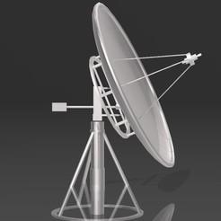Download STL Satellite Dish, Eternel06