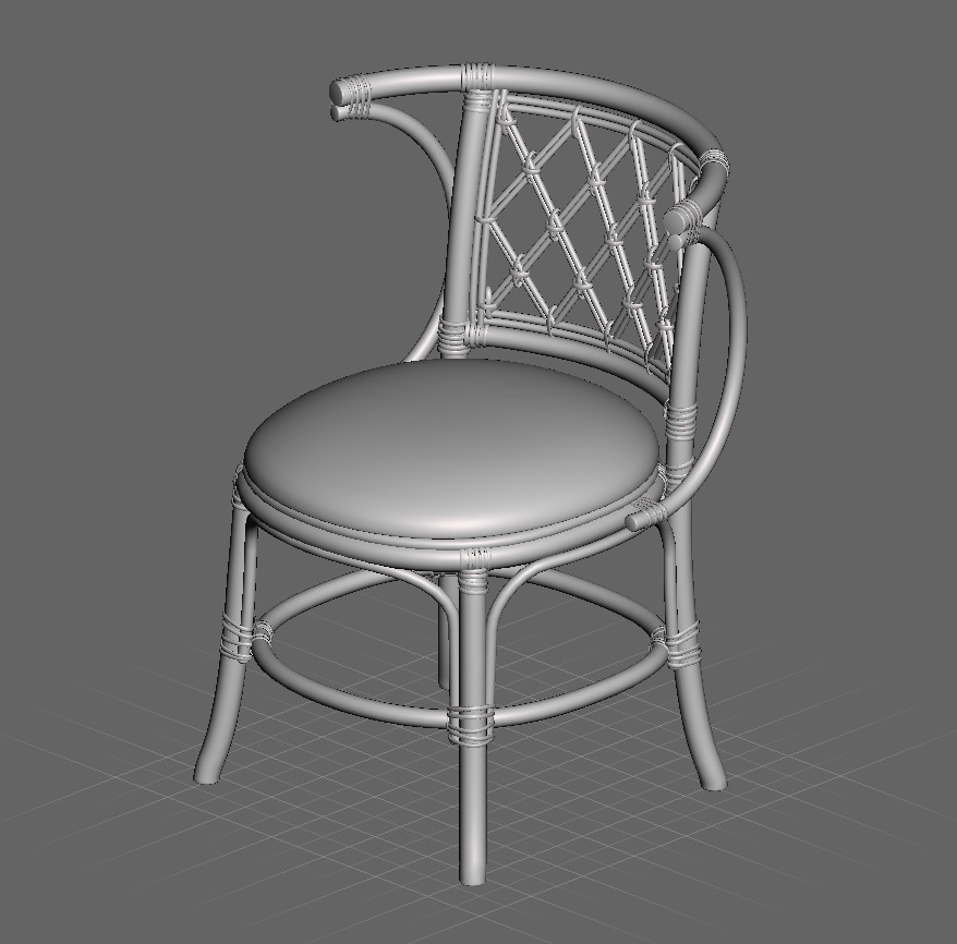 Screenshot_15.jpg Download STL file Exotic Chair • Object to 3D print, Eternel06