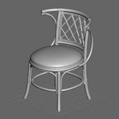 stl files Exotic Chair, Eternel06