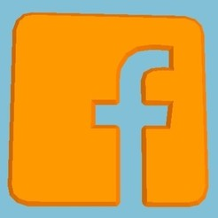stl files Facebook Logo, Eternel06