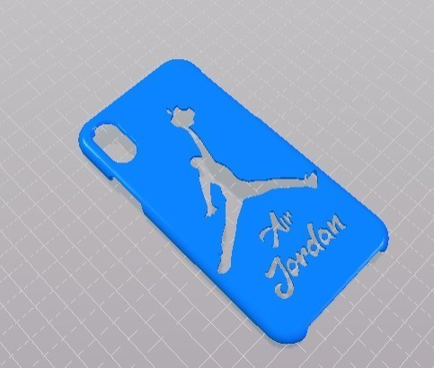 Screenshot_2.jpg Download free STL file iphone X Air Jordan Case • Design to 3D print, Eternel06