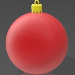 Download 3D printer designs Christmas Ball, Eternel06
