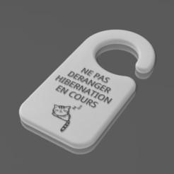 Accroche-Porte.jpg Télécharger fichier STL Accroche-Porte • Objet à imprimer en 3D, Eternel06