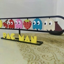 Download 3D printing designs PAC-MAN Family, Eternel06