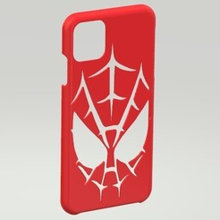 Screenshot_10.jpg Download STL file iPhone 11 Pro Max Spiderman Case • Object to 3D print, Eternel06