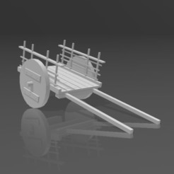 Gorean Wheel Cart.jpg Télécharger fichier STL Gorean Wheel Cart • Plan à imprimer en 3D, Eternel06