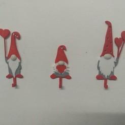 IMG_20200607_014138.jpg Télécharger fichier STL Santa Family Hooks • Objet pour imprimante 3D, Eternel06