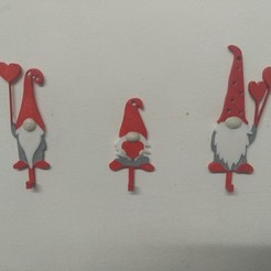 IMG_20200607_014138.jpg Download STL file Santa Family Hooks • 3D printable template, Eternel06