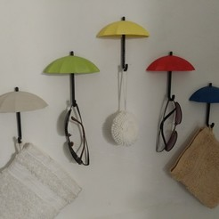 IMG_20200615_210425.jpg Download STL file Umbrella hooks • 3D print model, Eternel06