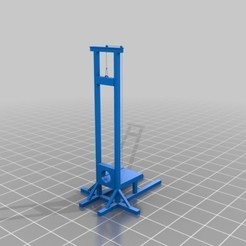 Download free 3D printer model Guillotine, Eternel06