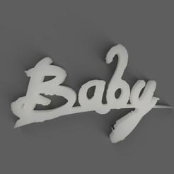 Download free 3D printer files Baby, claudiovyoh