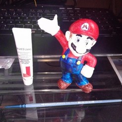 STL files Mario, sandinero