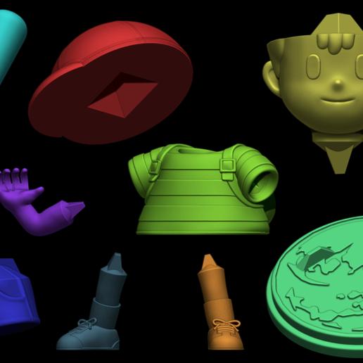 hgd.png Télécharger fichier STL Ness - FanArt • Modèle imprimable en 3D, BODY3D