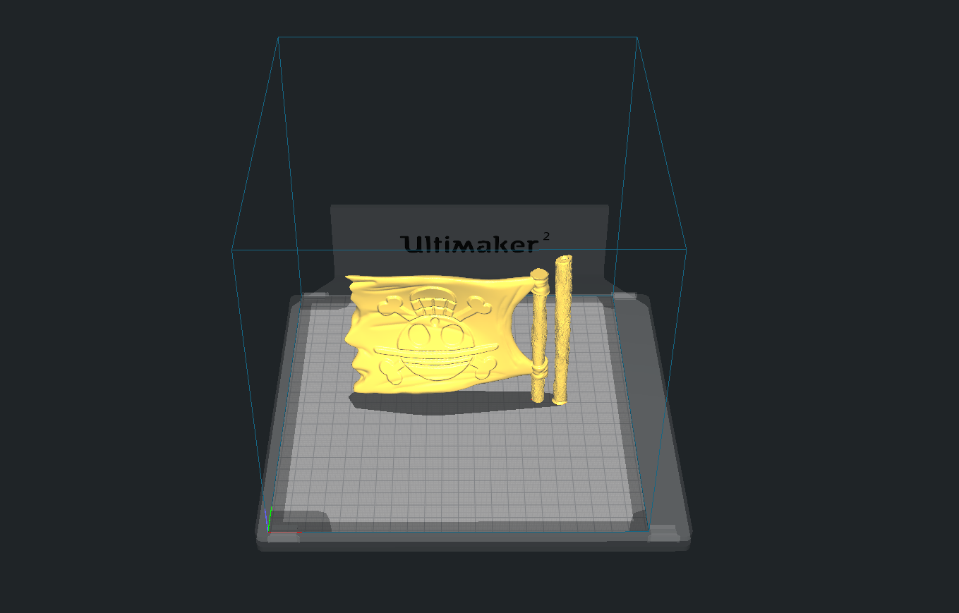 Slicer 3.PNG Download free STL file Monkey D Luffy • 3D printing object, BODY3D