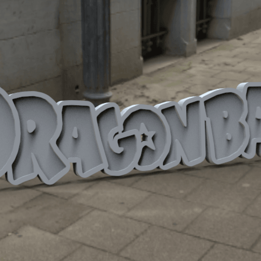 Download free STL file Dragon Ball Logo • 3D printing design, BODY3D