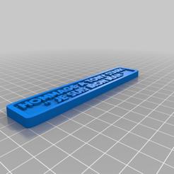 """HOMMAGE_IM.png Télécharger fichier STL gratuit Plaque """"Je suis iron man • Modèle pour imprimante 3D, BODY3D"""