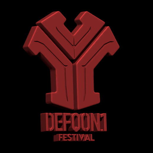 ZBrush_Document.png Download free STL file DEFQON LOGO • 3D printing model, BODY3D