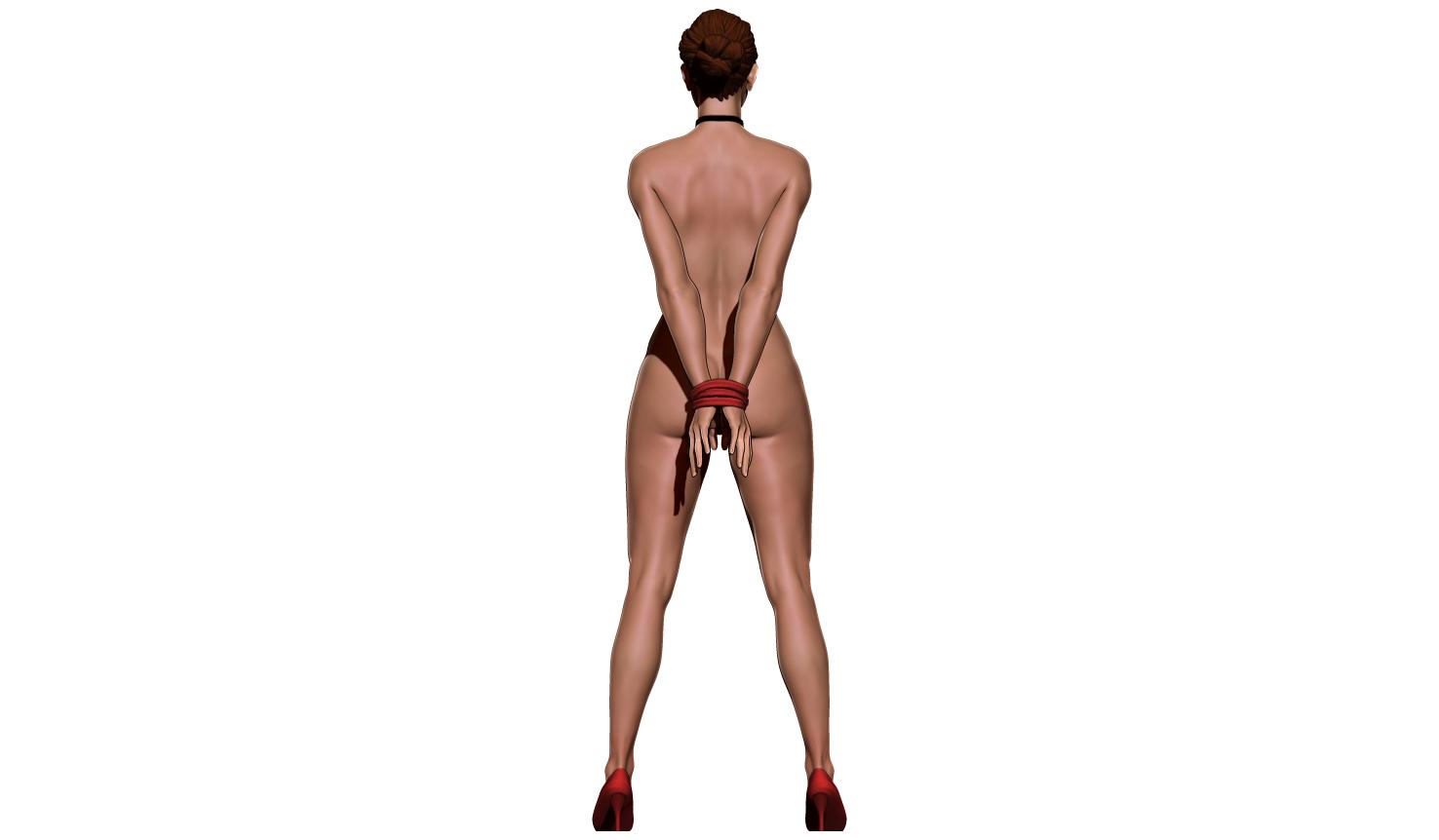 aaaaaaaaa.png Télécharger fichier STL Little Caprice Pose 2 • Objet imprimable en 3D, BODY3D