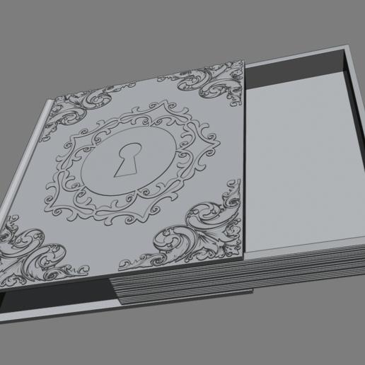 3.png Télécharger fichier STL gratuit Livre secret • Plan pour impression 3D, BODY3D