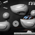 hfgdhdhdj.png Télécharger fichier STL Evil Duck - Nightmare Before Christmas • Design pour impression 3D, BODY3D