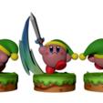 Render 1.png Télécharger fichier STL Kirby Link FanArt • Plan à imprimer en 3D, BODY3D
