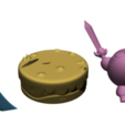 Render 3.png Télécharger fichier STL Kirby Link FanArt • Plan à imprimer en 3D, BODY3D