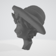 Tête_profil.PNG Download free STL file Luffy Head - One Piece • 3D printing object, BODY3D