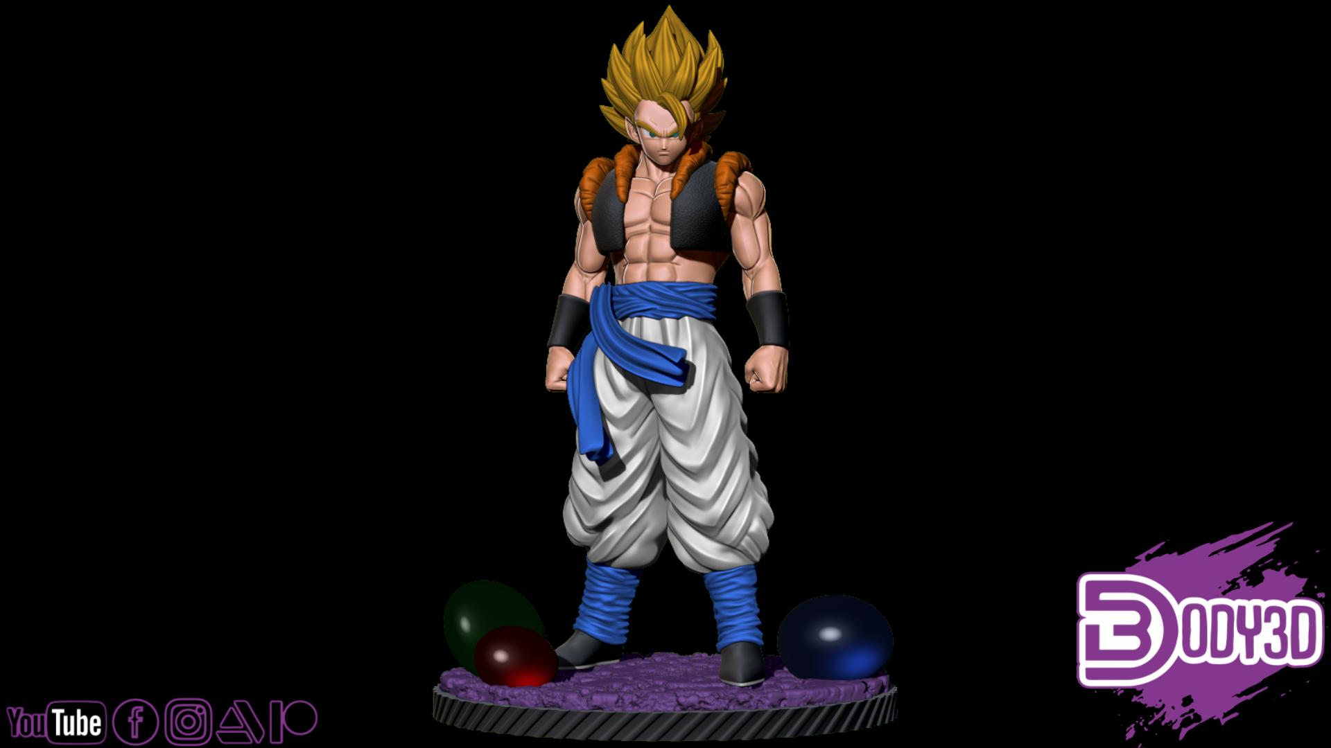gfdhfdhhfghd.png Télécharger fichier STL Gogeta Static Pose 1-6 Scale - Dragon Ball • Design pour imprimante 3D, BODY3D