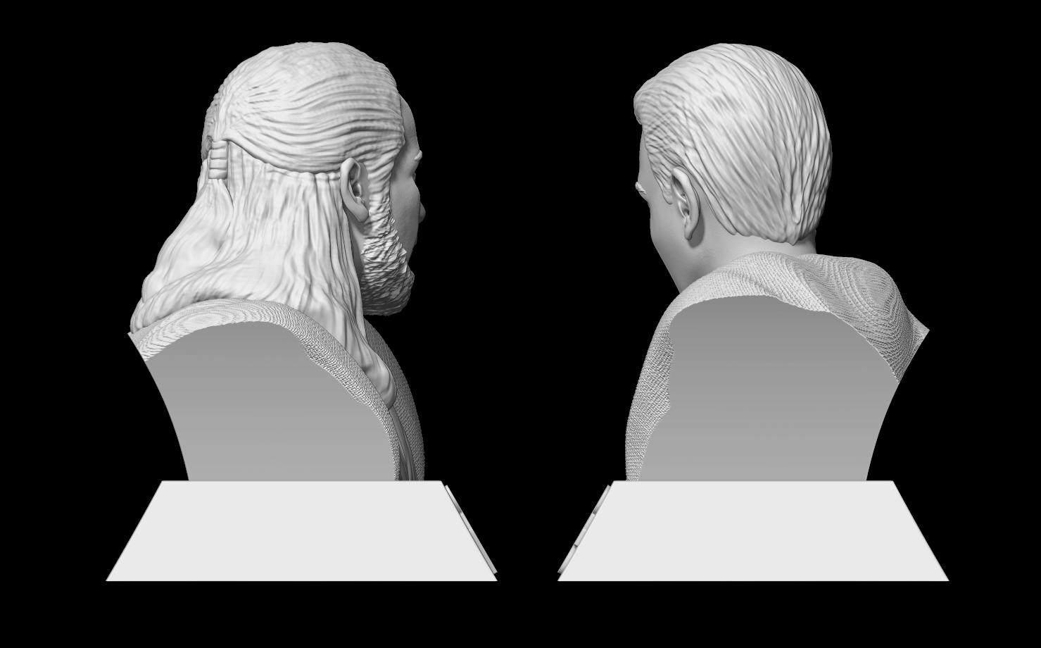 4.png Télécharger fichier STL Qui-Gon Jinn Bust • Objet pour imprimante 3D, BODY3D