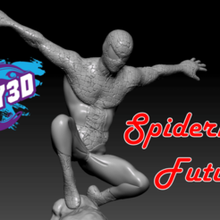 Download free 3D printer model Future Spiderman, BODY3D