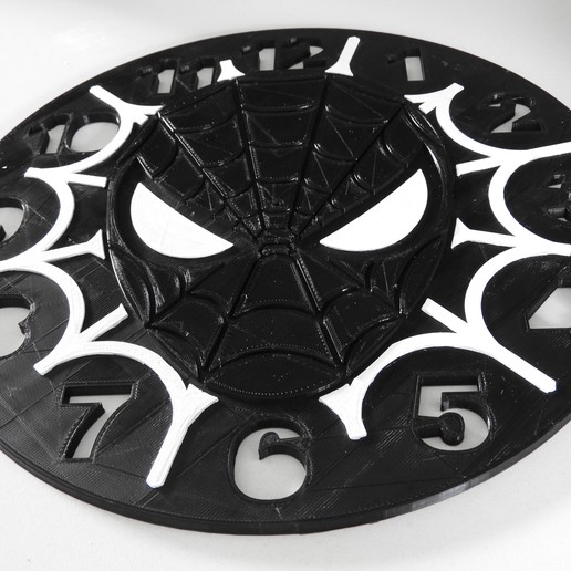 DSCN1139.JPG Download free STL file Spiderman Clock • 3D print object, BODY3D