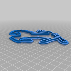 Download free 3D printing designs Ferrari Stencil, BODY3D
