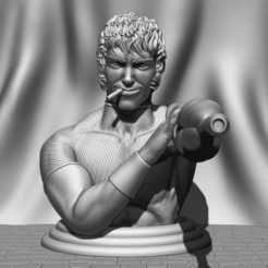 gfdsgsdfdfshdsd.png Download STL file Cobra Bust FanArt • 3D printing object, BODY3D