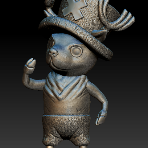 fsdq.PNG Download free STL file Tony Tony Chopper • 3D printing object, BODY3D