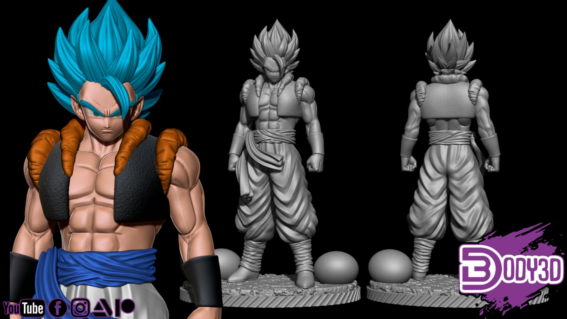 gfdsgdsgdsgdsg.png Télécharger fichier STL Bundle Gogeta - Dragon Ball • Design pour impression 3D, BODY3D