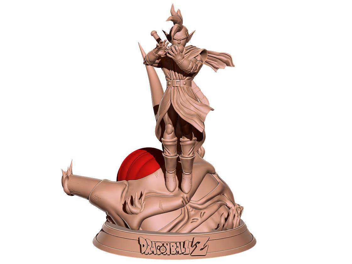 52.png Télécharger fichier STL gratuit Tapion Ocarina - Dragon Ball Z • Design pour imprimante 3D, BODY3D