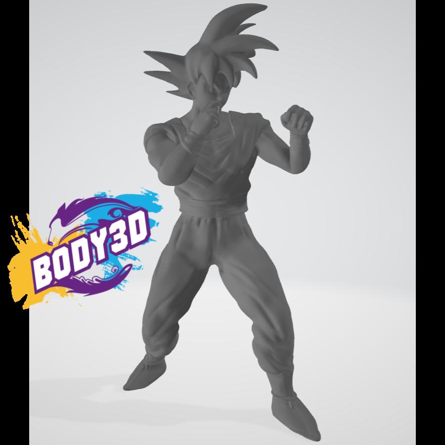 1.png Télécharger fichier STL gratuit Goku Fight • Plan pour impression 3D, BODY3D