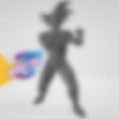 Goku_Fight.stl Télécharger fichier STL gratuit Goku Fight • Plan pour impression 3D, BODY3D