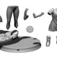 Descargar archivos 3D Videl - Dragon Ball, BODY3D