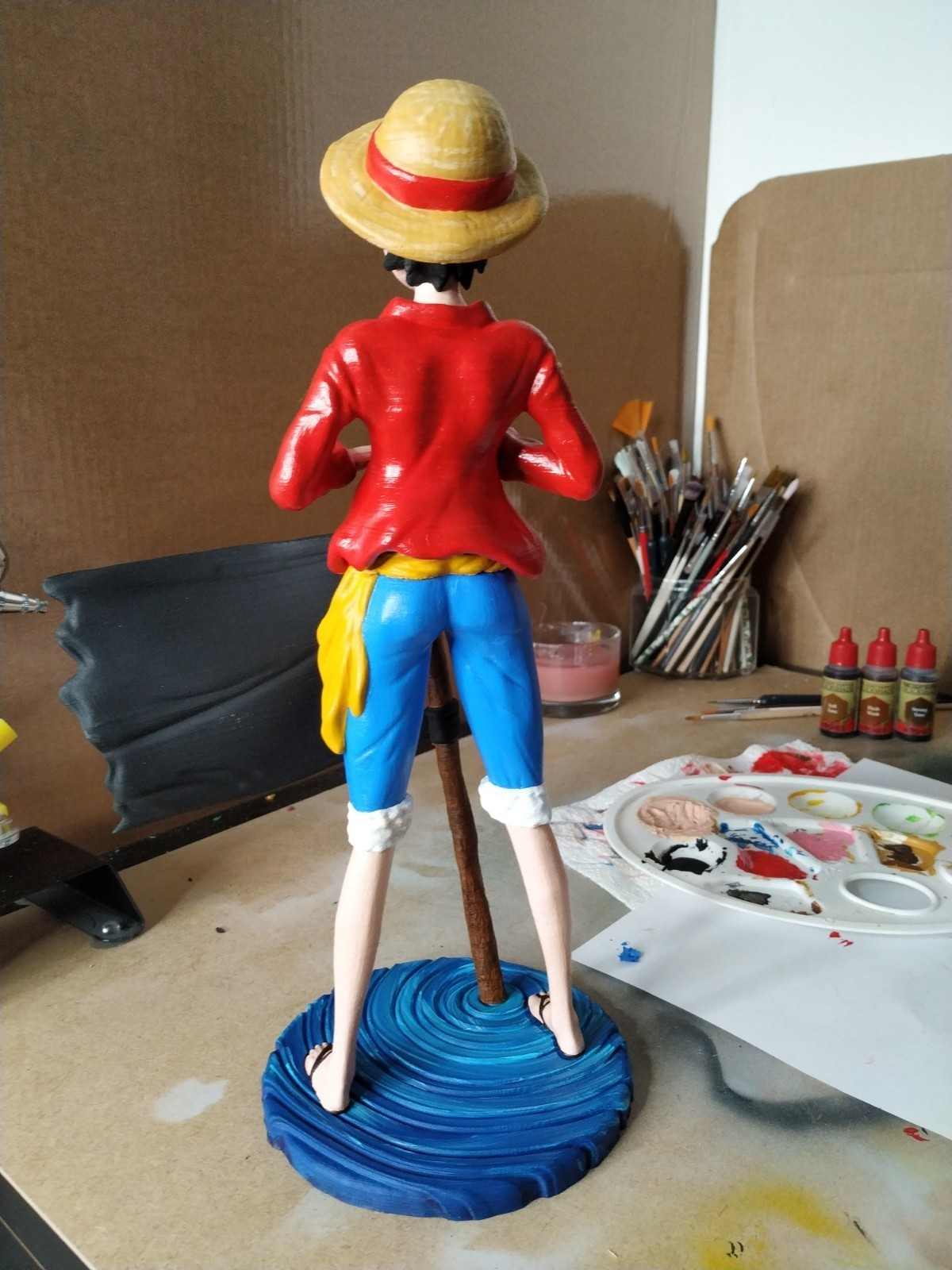 IMG_20190321_235747.jpg Download free STL file Monkey D Luffy • 3D printing object, BODY3D