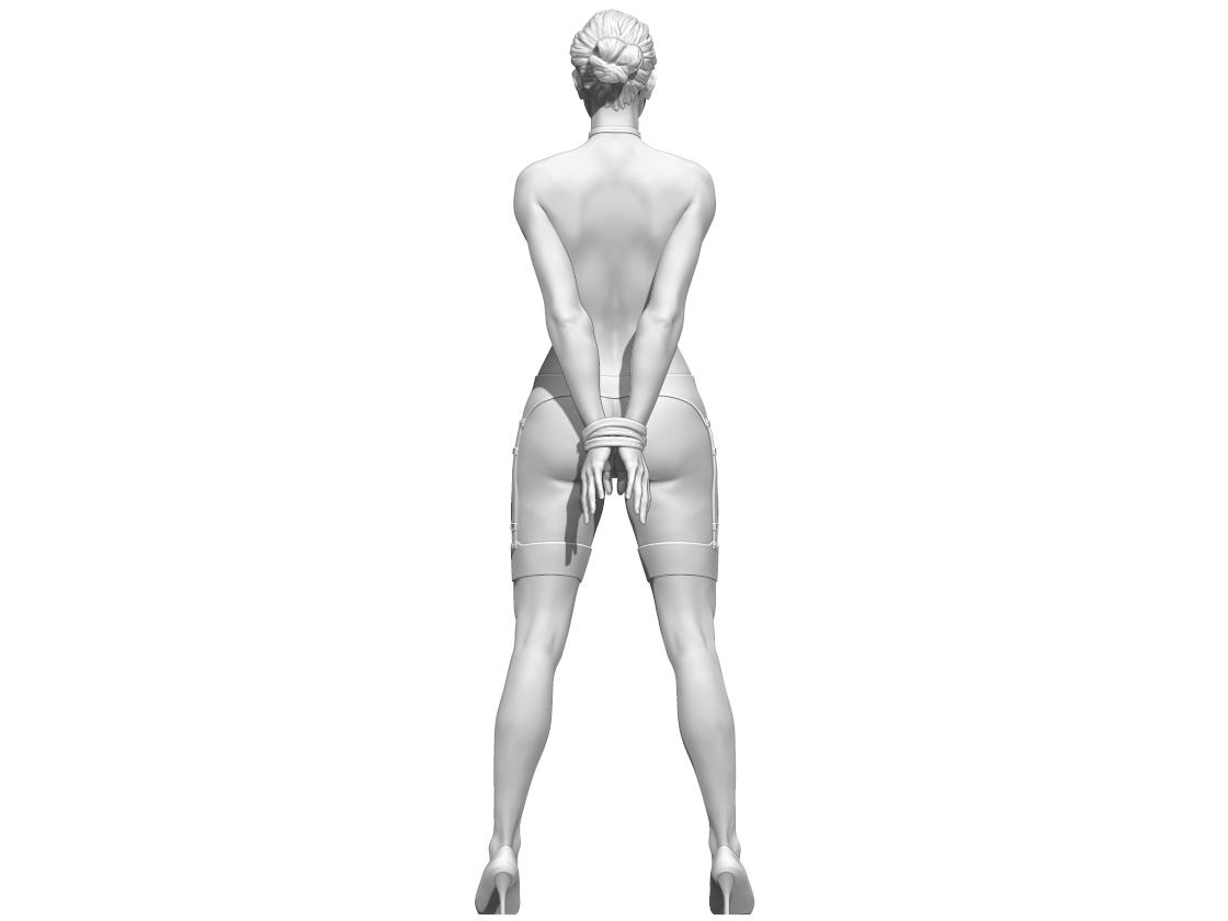 aaaa.png Télécharger fichier STL Little Caprice Pose 2 • Objet imprimable en 3D, BODY3D