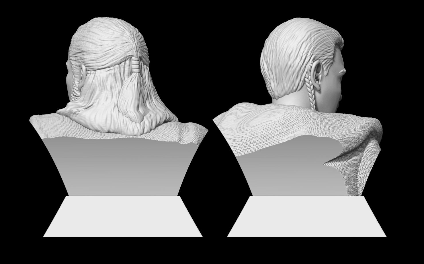 3.png Télécharger fichier STL Qui-Gon Jinn Bust • Objet pour imprimante 3D, BODY3D