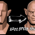 Download free STL Azog Bust - The Hobbit, BODY3D