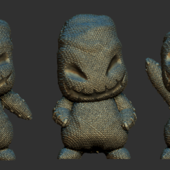 Download STL file Mini Oogie Boogie - 5 Poses, BODY3D